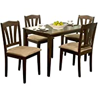 Metropolitan 5-Piece Dining Set (Multiple Colors)