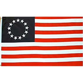 Betsy Ross Flag 3 x 5 NEW 3x5 AMERICAN 13 STARS USA