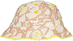 Stella Mccartney Kids Dolores Floral Sun Hat, Pink, 12/18M