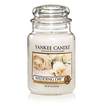 Wedding Dayr 12 Large Jars by Yankee Candle