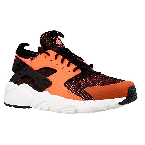 Nike Men's Air Huarache Run Ultra, BLACK/TOTAL CRIMSON-WHITE, 11 M US