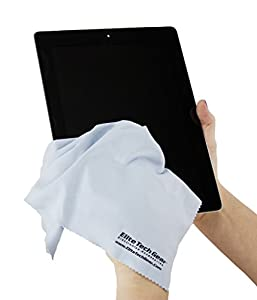 The Most Amazing Microfiber Cleaning Cloths - Perfect As Cell Phone, Tablet, Camera Lens, Eyeglasses, Computer, Monitor, Laptop Screens, Video, Projector, Binocular, Telescope, Headphone, CLEANERS - A Must Have As a Digital Cleaning Accessory For All Your