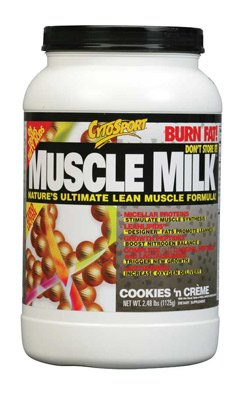 CytoSport Muscle Milk Powder Cookies and Cream - 2.47 lb