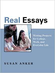 real essays with readings writing projects for college work Real essays with readings: writing projects for college, work, and everyday life [with exercise central to go and 50 essays: a portable anthology] (paperback.