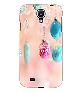 PrintDhaba Pendent D-2295 Back Case Cover for SAMSUNG GALAXY S4 (Multi-Coloured)