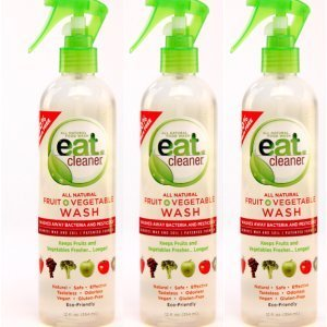 Eatcleaner Fruit and Veggie Wash 12oz-3 Bottles (Veggie And Fruit Cleaner compare prices)