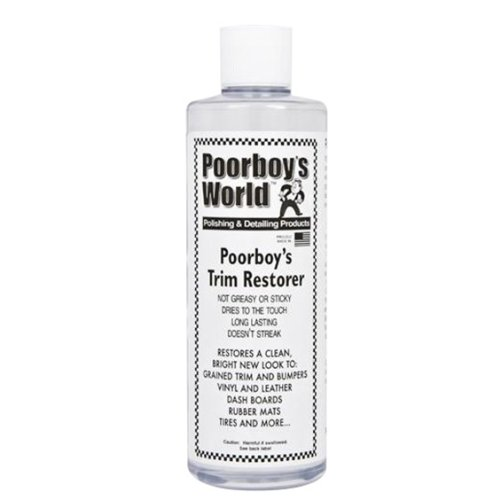 Poorboys Multi-Surface Car Trim Restorer Kit **FOR BUMPERS, PLASTICS, VINYL **