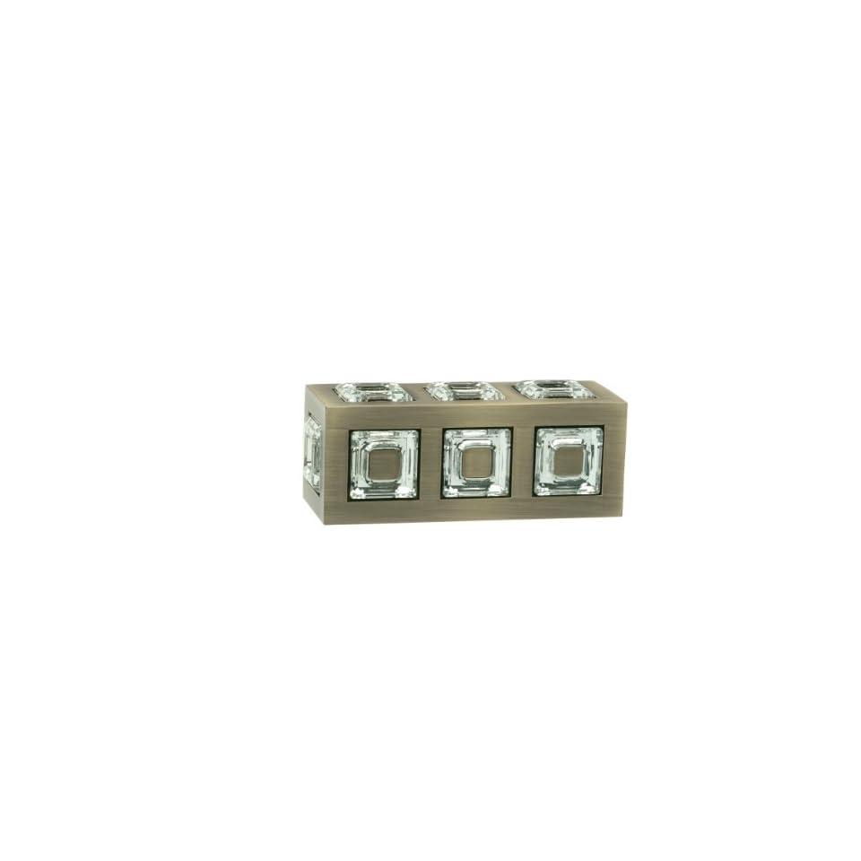 CFN10 Antique Brass Finial for 1 1/8 Rod Diameter~Pair