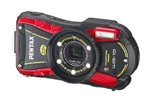 Pentax WG-10 Appareil Photo Etanche 14 Mpix Zoom optique 5x Rouge