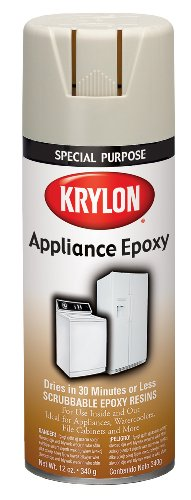 Krylon 3201 Appliance Epoxy Ultra Hard Finish, White