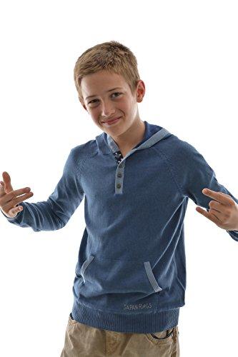 Japan Rags - Felpa - ragazzo blu 8 anni