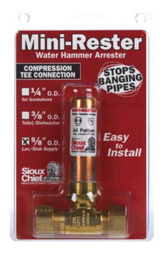 """Sioux Chief 660-GT Mini-rester Water Hammer Arrester 5/8"""""""
