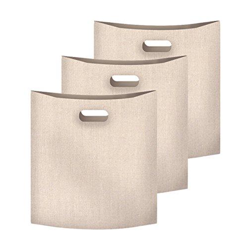 ALAIX Grille-pain sacs réutilisables 100 Utilisation non-Stick Sandwich / Snack Faire Cheeze Toasties Dans un gril Sac Grille-pain, 3 Pack
