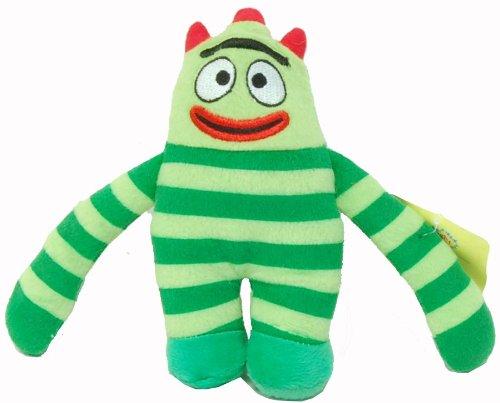 "Yo Gabba Gabba 9"" Plush Doll Brobee - 1"