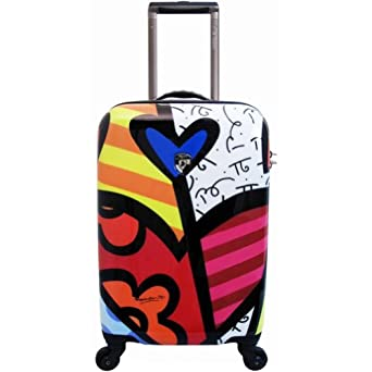 Britto Collection by Heys USA A New Day 22 Spinner Case