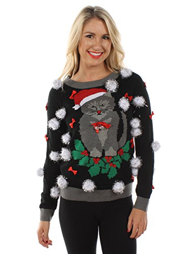 Ugly Christmas Sweater - Cat
