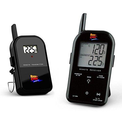 ET-732 Wireless Barbecue Thermometer mit Funk - deutsche Version in Schwarz