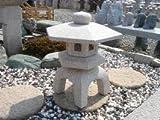 古代雪見燈籠(1.5尺・角型・サビ色)