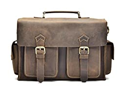 Hølssen Satchel Briefcase Messenger 13\