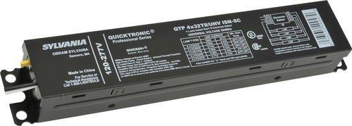Sylvania Qtp4X32T8/Unv-Isn-Sc 49947 4 Fluorescent Ballasts-Fluorescent-Hid