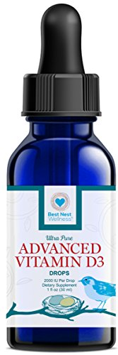 Best Nest Advanced Vitamin D3 Drops, 2000 IU Per Drop, 1 Oz (Yum Yum Vitamin D Drops compare prices)