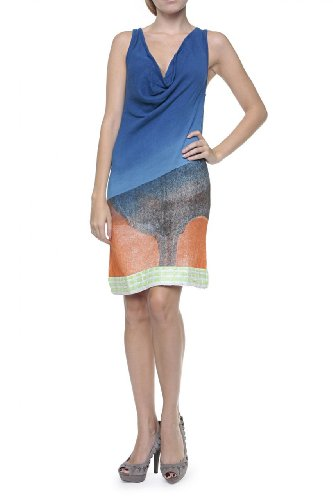 Custo Barcelona Summer Dress NIRA PE, Color: Blue, Size: M