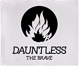 CafePress Divergent - Dauntless Faction Symbol Throw Blanket - Standard Multi