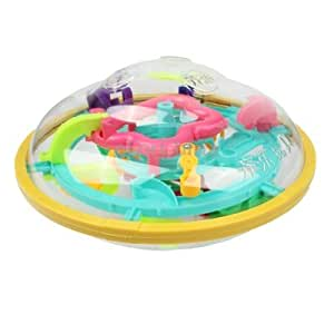 Fashion 3D Space Round Ball UFO Labyrinth Toy Educational Toy