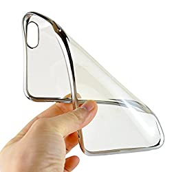 Soft Transparent back cover Xiomi Redmi MI4I silver