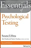 img - for Essentials of Psychological Testing (Essentials of Behavioral Science) by Susana Urbina (2014-08-04) book / textbook / text book