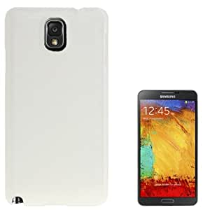 Brushed Texture Smooth Surface Plastic Case for Samsung Galaxy Note 3 N9000 in White