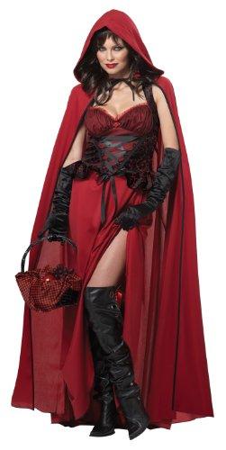 Women's Dark Red Riding Hood