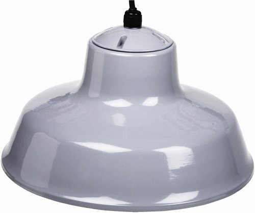 Buy Designers Edge 14-Inch Indoor One-Light Downward Hanging Farm Light Fixture, Powder Coarted #L-1712