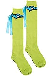 TMNT Knee High Ribbon Socks