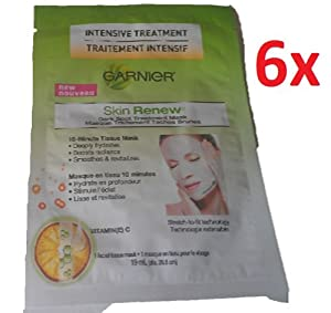 Garnier Skin Renew Dark Spot Treatment Mask (6 Pieces)
