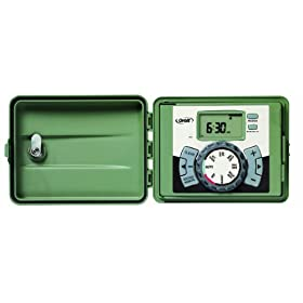 Orbit 57894 4-Station Outdoor Swing Panel Sprinkler System Timer
