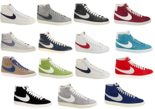 Nike Blazer Grigie E Bianche