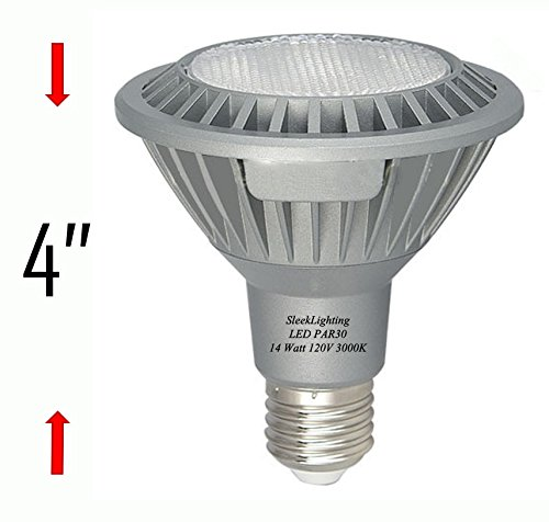 Sleeklighting Par 30 14 Watt Led Long Lasting Spot Light Bulb 3000k 1000lm Warm White Track