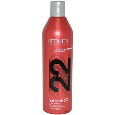 Redken Hots Sets 22 Thermal Setting Mist for Unisex,