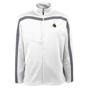 Purdue Boilermakers Jacket - NCAA Antigua Mens Viper Performance Jacket White by Antigua