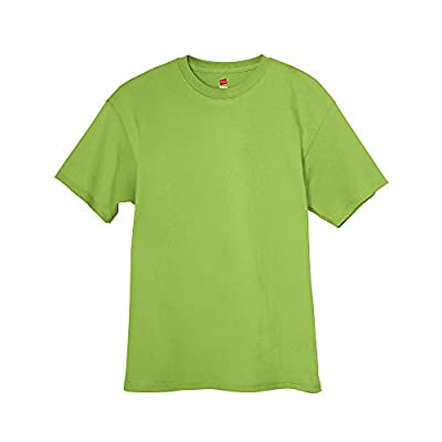 Hanes 5250 Tagless T-Shirt Lime Green 2XL