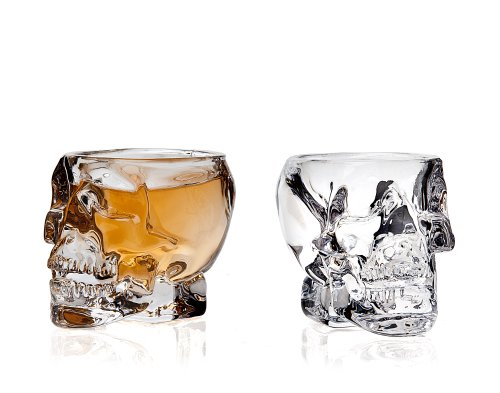 Skull Shot Glass - Set Of 2