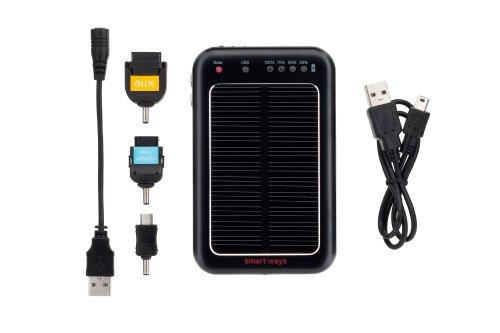 モバイル ソーラーバッテリー 001 SWーSB01ーFAMK/BK