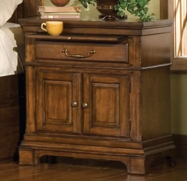 Cheap nightstands american woodcrafters cobblestone inn for Affordable nightstands