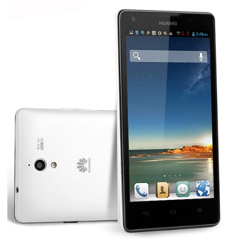 Huawei Ascend G700 5-Inch Smartphone White- (1280*720) Mtk6589 Quad Core 2Gb Ram/8Gb Rom With Camera Flash