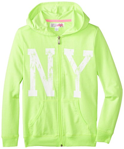 Derek Heart Big Girls' Frannys Zip Hoodie  Front