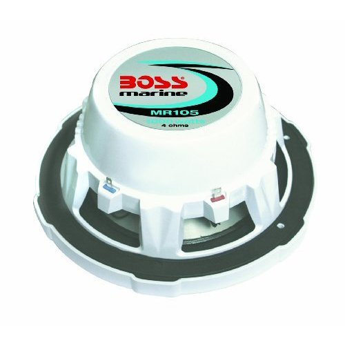 Boss Audio Mr105 10-Inch 100-Watt Single Voice Coil Subwoofer