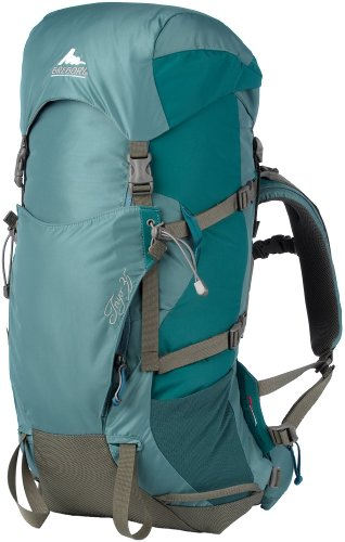 B002UXOTRA Gregory Mountain Products Women's Inyo 35 Backpack, Cerulean, Medium