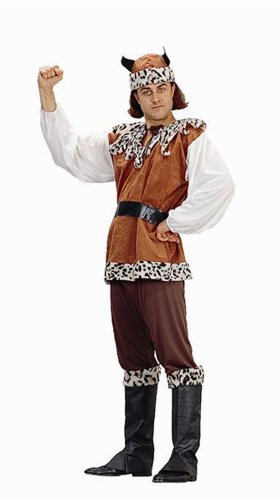 Men's Viking King Adult Halloween Costume (Size: Standard 42-46)