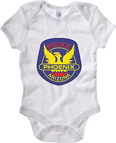 Cotton Island - Body neonato TM0113 Phoenix Police Department citta, Taglia 3-6mesi